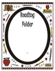 Elementary Work Folders / Daily Folders Covers ~ Apple Sch