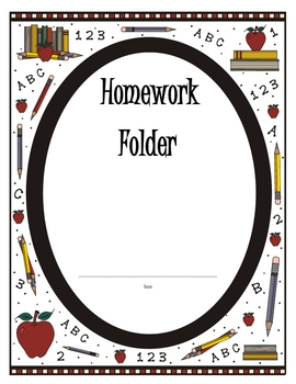 Daily Work Folder Covers - Apple School