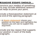 Elements of Persuasion Notes