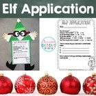 Elf Application Craftivity - Christmas Writing and Craft