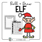 Elf Dice Drawing Sheet