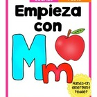 Empieza con Mm {Cut & Paste Emergent Reader}
