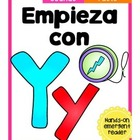 Empieza con Yy {Cut & Paste Emergent Reader}