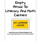 Empty Altoid Tin Centers