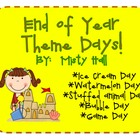 End Of Year Theme Days