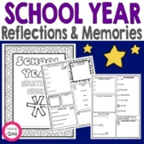 End of School Year Reflections and Memories Think Book