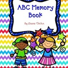 End of Year ABC Memory Book and Autograph Book for First o