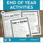 End of Year Activities MEGA Pack! Yearbook and Memory Book Pages!