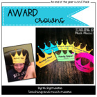 End of Year Awards { award crowns }