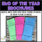 End of Year Brochure: Helpful Hints for your Future Students
