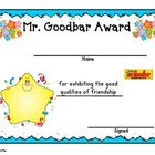End of Year- Candy Bar Themed Awards