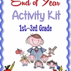 End of Year Lessons Resources and Activities for Summer FULL KIT