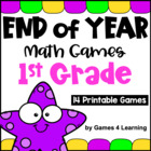 End of Year Math Games First Grade