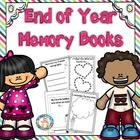 End of Year Memory Book ~ K-1