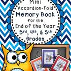 End of Year Mini-Memory Book for Intermediate Grades