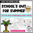 Free End of Year or Summer Activity Cards