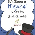 End of the Year Class Book: 3rd Grade {Magic Theme}