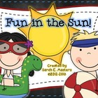 End of the Year - Fun in the Sun - Math Centers - Games
