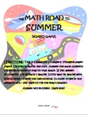 End of the Year Math Review Games and Activities