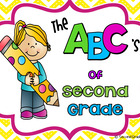End of the Year Memory Book {ABC's of Second Grade}