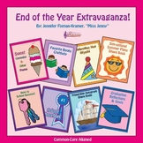 End of the Year Writing Craftivities -  87 p. / Common Cor
