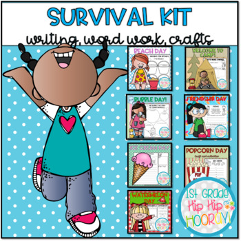 End of the Year Bundle,,,Survival Kit with Crafts and Activities!