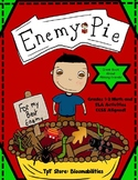 Enemy Pie: Math and ELA Activities