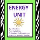 Energy Unit- With 6 Experiments
