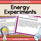 Energy Workstations Task Cards - Science Experiments/Rotations