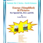 Energy in Pictures for Special Ed., ELL and ESL Students f