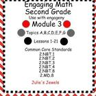 Engaging Math Module 3 for Second Grade Smart Board