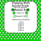 Engaging Math Module 4A for Second Grade Smart Board