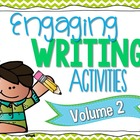 Engaging Writing Activities Volume 2