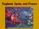 England, Spain, and France 1533 to 1603