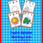 English Alphabet Matching Games