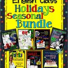 English Class Holidays / Seasonal Bundle, Grades 7-12: Les