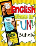 English Class is Fun Bundle! ELA Grades 7-12: Lessons, Vid