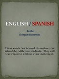 English / Spanish for the Classroom