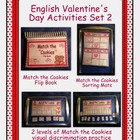 English Valentine's Day Activities Set 2