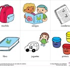 English/Spanish - Back to School / En la escuela (Age Level 4+)