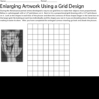 Enlarging a Picture Grid Worksheet