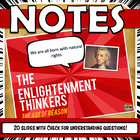 Enlightenment Thinkers Powerpoint