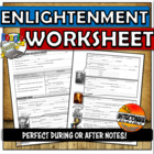 Enlightenment Thinkers Powerpoint Graphic Organizer