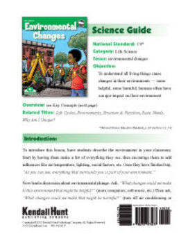 Environmental Changes Science Guide