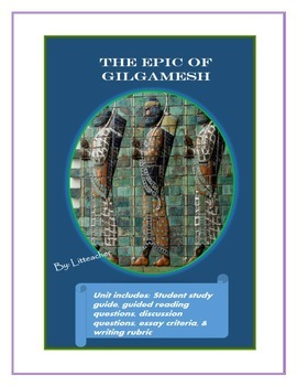 literary analysis on gilgamesh The epic of gilgamesh term papers available at planet paperscom, the largest free term paper community.