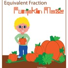 Equivalent Fraction Pumpkin Maze