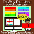 Equivalent Fractions Game:  Trading Fractions