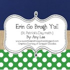 Erin Go Bragh Y'all! (St. Patrick's Day Math)