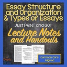 Essay Organization and Types
