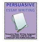 Essay Writing: Persuasive Assignment